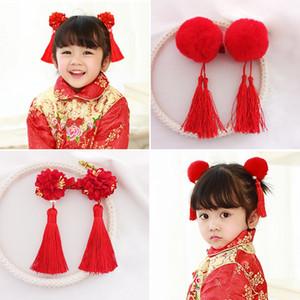 New Lovely Children Accessori per capelli Ragazze Handmade Bow Fascia Kids Flower Hair Artiglio Forcine Ornamenti per capelli