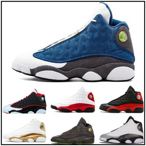 Top Jumpman 13 13s Men Kids Basketball Shoes Bred Flints History of Flight Altitude XIII Sport Shoes Athletics Sneakers