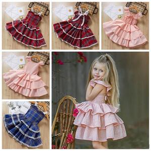 Été filles gâteau couche tutu jupes 1-6 ans porte-jarretelles bébé fille robe enfants princesse boutiques vêtements enfants cadeaux
