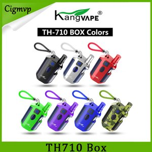 100% Original Kangvape TH710 Kit 650mAh Preheat VV Variable Voltage TH-710 Battery Box Mod 0.5ml Thick Oil 92a3 Cartridges Authentic