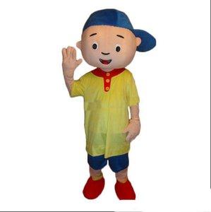 Alta qualidade Caillou Mascot costume Adulto tamanho Caillou Mascot costume Frete grátis