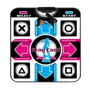 OSTENT USB RCA Non-Slip Dancing Step Dance Pad For PC TV Av Video Game