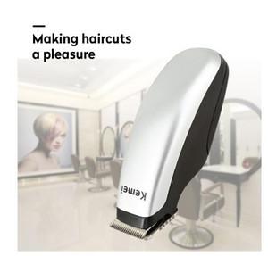 Kemei KM-666 Mini Electric Trimmer Clipper pelo corte del pelo de la máquina de corte de pelo de la barba del peluquero maquinilla de afeitar de pelo para los hombres