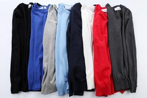 toptan İlkbahar sonbahar yeni yüksek kaliteli marka erkek büküm kazak örme pamuk kazak kazak kazak kazak erkek kazak gömlek