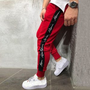 SAGACE Men Running Pants zipper Athletic Football Soccer pant Training Sports Pants Elasticity Legging jogging Gym Trousers A118 T200612