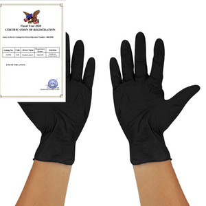 100шт одноразовые латексные перчатки антистатические порошкообразные нитриловые перчатки нетоксичные защитные перчатки для рук изоляция защитных перчаток