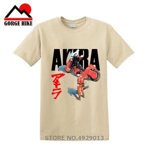 Manga Hero Akira Synthwave T Shirt japanese anime 티셔츠 남성 편안한 남성 탑 티셔츠 여름 패션 tshirt 캐주얼 프린트