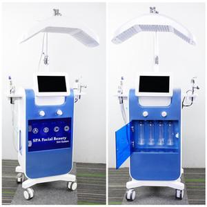 سبا استخدام Hydra Microdermabrasion Machine Diamond Dermabrasion Skin Peel Hydrafacial المعدات 8 مقابض الرعاية الهادئة