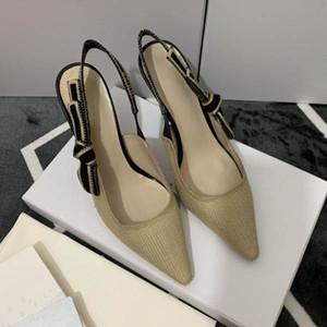 Designer Femmes Talons colorés Sandales de qualité supérieure salomés à talons hauts pompes Mesdames robe en cuir verni Chaussures monocalibre; 34-42