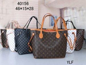 el envío de 2 pedazos 2020 Nuevo Sistema libre de los bolsos de hombro de las mujeres del totalizador del bolso de embrague del mensajero del bolso mochila HOTLVLOUISVUITTON