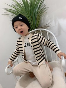New Autumn Baby Boys Girls Sweaters leggings Set kids knitted shirt and trousers for toddler children clothing