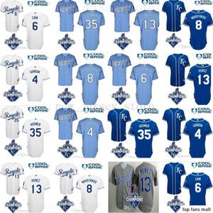 2019 Mens Women Youth Royals Jersey 35 Eric Hosmer 6 Lorenzo Cain Jersey 13 Salvador Perez 100% stitched baseball jerseys size S-XXXL