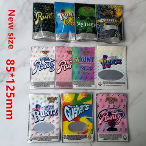 UP da piada! 3.5g Branco Runtz rosa Runtz OG V Gruntz Rosa + Runts Peach Kobbler Cheiro Bags Proof 420 Dry Herb Flowers Stocking