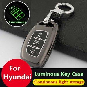 Key Case voiture pour Hyundai Tucson I10i20i30 Creta Ix20ix25ix35 Sonata Verna Solaris de Santa Elantra Mistra HB20 2015 -2019 Couverture clé