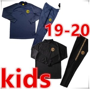 TOP italia enfants football Survêtement Survêtement de costume de formation de football 2019 2020 enfants chandal futbol football Survêtements veste de jogging