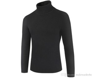 Spring Bottoming Autumn Turtleneck Designer Mens Color Solid Sweaters Sweatshirts Dgrws