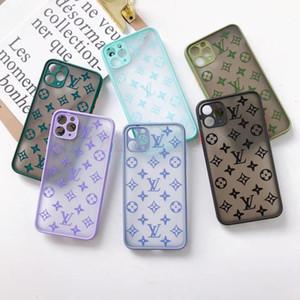 2020 Nuovo traslucido Matt cassa del telefono per iPhone 11 x xs max xr 11Pro 8 8plus 7 7plus Shell posteriore di alta qualità resistente agli urti Coperchio per iPhone11