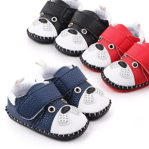 Comfortable Autumn First Walker Red Blue Black Newborn Girl Boy Soft Sole Toddler Shoes Sneaker First Walking Shoes