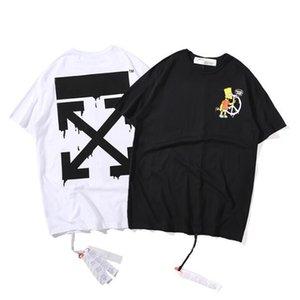 2020 fashion Men Women Luxury Shirts Summer Mens casual Designered T-shirt Short Sleeve Top Tees Hip Hop Mens Clothing q36