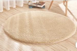 Alfombras de piel de cordero alfombra redonda alfombra de yoga estera de yoga cesta de la computadora silla cojín dormitorio sala de estar alfombra de noche 160 cm