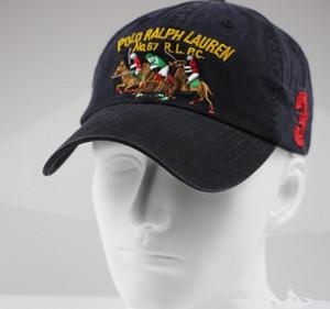 casquettes Plain femmes casquette de baseball hommes chapeau Polo style décontracté Sport extérieur Casquette réglable mode unisexe