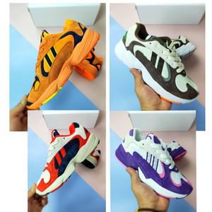 2019 neue Schuhe Herren Damen Laufschuhe Dragon Ball Z x YUNG-1 OG GoKu Orange Kanye 700 West Laufschuhe Sportschuhe