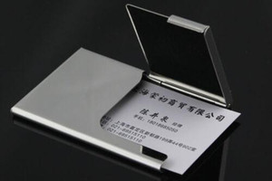 Creative Semi-open Business Driver ID Credit Card Holder Protector Case Holders Cases