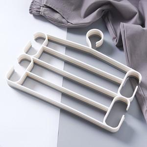 Multifuncional calças mágicas titular multi-camada anti-skid pant rack calças cachecol cabide guarda-roupa calças de armazenamento pendurado rack