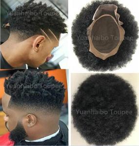 siyah erkekler Ücretsiz Kargo için afro curl İnsan saçı peruk siyah renk kısa Hint Remy saç mens peruk postiş peruk