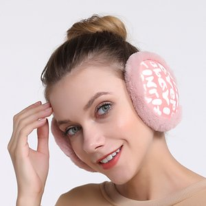 Winter Warm Plush Earmuff Cover Men And Women Korean-style Plush Ear Covers Earmuff Bag Ear Warmer Folding Plush Warm Earmuffs