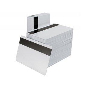 CR80 Tamaño estándar de plástico PVC en blanco Tarjetas de raya magnética Impresión