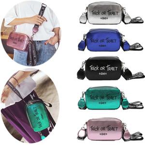 5 Colour Luxury Design Letter Beach Crossbody Shoulder Bag PU Leather Fashion Women Girls Travel Leisure Handbags Purse Camera Chest Bags