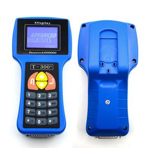 Araç Anahtar Programcı T300 ana ünite V16.8 T 300 Otomatik Transponder Anahtar Dekoder T-KOD T300 teşhis mavi / siyah renk T300