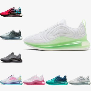 Sale 72c Be True Obsidian Volt KPU OG Running shoes for men women 720s Sea Triple black Metallic Platinum Iridescent Mesh Mens Sports 36-46