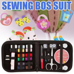 Couture Kit de réparation Set de couture Aiguilles Bouton Portable Mini Mending Voyage Kits Cousez à tricoter quilting Brochage broderie artisanale