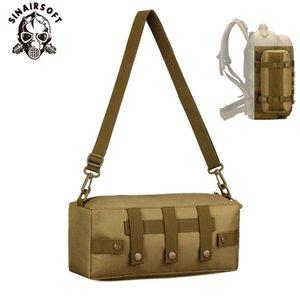 SINAIRSOFT Outdoor militar tático Backpack Nylon Bolsa de Cintura Waterproof Molle Camping Caminhadas Pouch Acessório Bag