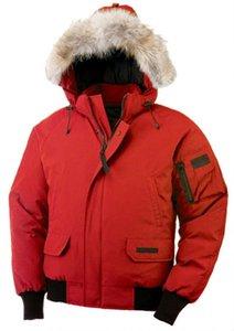 Мужской дизайнерских куртки gooes теплой зимы снег Пальто с капюшоном енотовидной собакой волос воротник утепленный холодный снег вниз пальто синего афроканадцы пуховиков