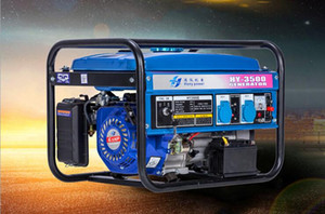 Gasoline generator household small mini 3000w electric start single phase 220v volt 3 kW portable outdoor miniature