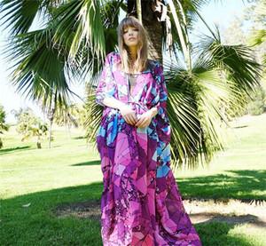 Дизайнер Женщины Купальники Sexy Cover Ups лето Половина рукава Кардиган пальто Повседневная мода Женщины Купальники Luxury для печати