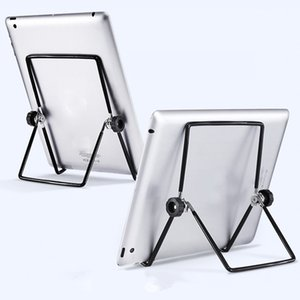 hot Rotating folding tablet computer stand desktop universal metal lazy mobile phone stand size dhl free