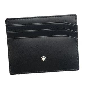 Классический черный натуральная кожа кредитной карты держатель кошелек Бизнес Luxury ID Card Case для Человек моды Тонкий Портмоне Карманный сумка Тонкий бумажники