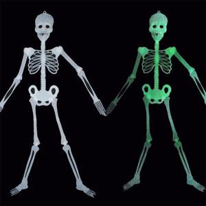 Halloween Squelette Night Light Festival Décoration Lumineux Pendentif KTV Bar Terreur Thème Lumineux Squelettes Nouvelle Arrivée 1 3tl L1