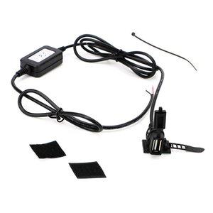 Telefon GPS USB Bağlantı Noktası Adaptörü Motosiklet USB Soket Güç Suppl için utomobiles Motosiklet DC 5V 2A Motosiklet Dönüştürücü Gidon Şarj ...