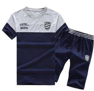 Luva Camiseta Pants Quinta 2pcs Sets Roupa executando Painéis Sportswear Mens Moda Esportes Fatos Designer Curto