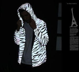 Autumn Windbreaker Zipper Designer Jackets Windruner Brasão M3 Refletir Jacket por Homens Spring