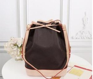 High quality 100% genuine leather will oxidize Women Fashion Shows Shoulder Bags Totes Handbags Top NOE bag Handles Messenger Bags M40817