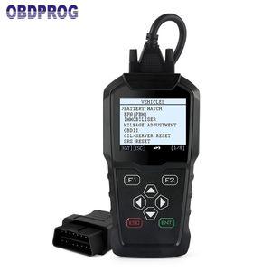 OBDPROG MT006 Immobilizer OBD2 odometer Correction Mileage Reset Professional Key programmer OBDII Diagnostic Tool Free update