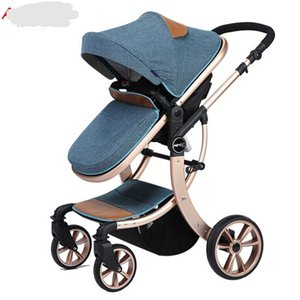 Four Wheels Stroller aluminum baby stroller folding 3C prams for newborns ombrelle poussette plegable hot mom stroller quality