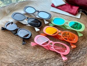 Neue Art und Weise Frau Designer-Sonnenbrille 0517 Farbe kleine Rahmen UV 400 im Sommer im Freien Schutzbrille Avantgarde beliebtes Großhandel Gläser