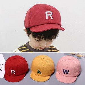 Letter Baby Baseball Cap Summer Kids Baby Girl Boy Sun Hat Adjustable Children Toddler Boys Snapback Hip Hop Hat Czapka Dziecko